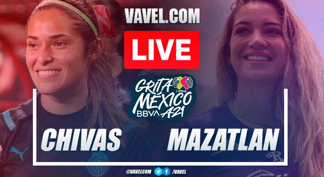Goals and highlights: Chivas 2-0 Mazatlan in Liga MX Femenil Apertura 2021