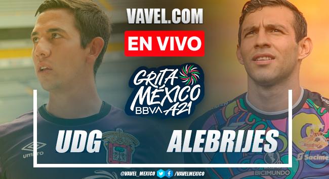 Resumen y goles: Leones Negros UDG 1-1 Alebrijes Oaxaca en Liga Expansión MX Apertura 2021