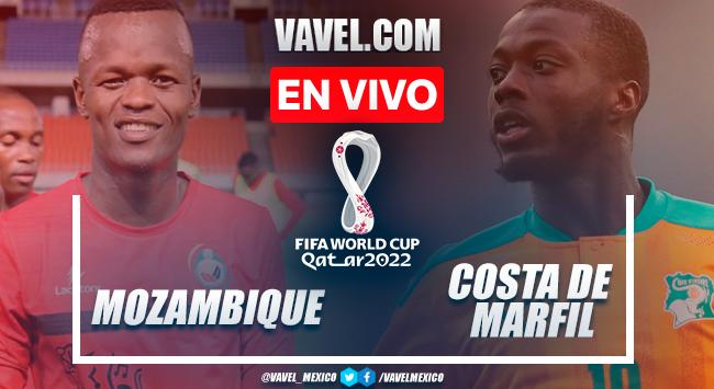 Resumen: Mozambique 0-0 Costa de Marfil en Eliminatorias Catar 2022