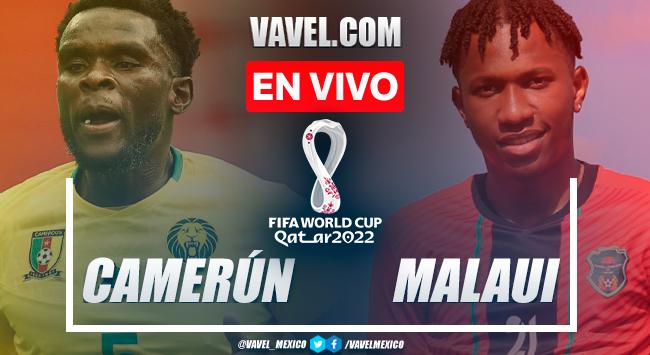 Resumen y goles: Camerún 2-0 Malaui en Eliminatorias Catar 2022