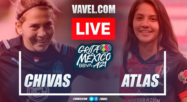 Goal and highlights: Chivas 1-0 Atlas in Liga MX Femenil Apertura 2021