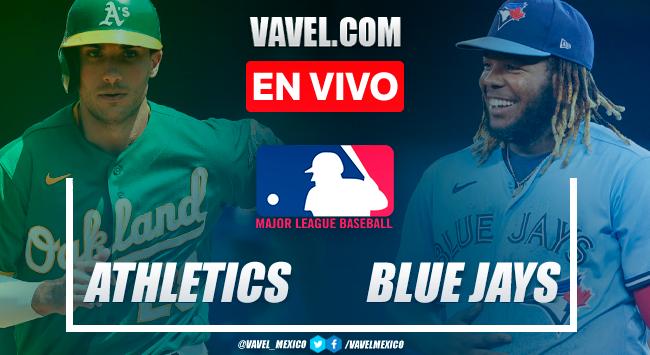 Resumen y carreras: Oakland Athletics 8-10 Toronto Blue Jays en MLB 2021