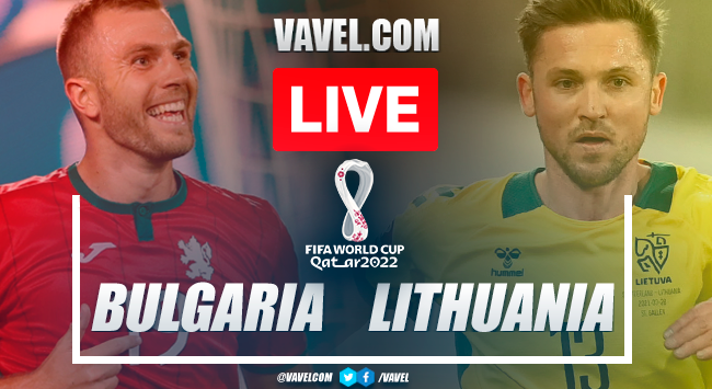 Goal and highlights: Bulgaria 1-0 Lithuania in 2022 World Cup Qualifiers