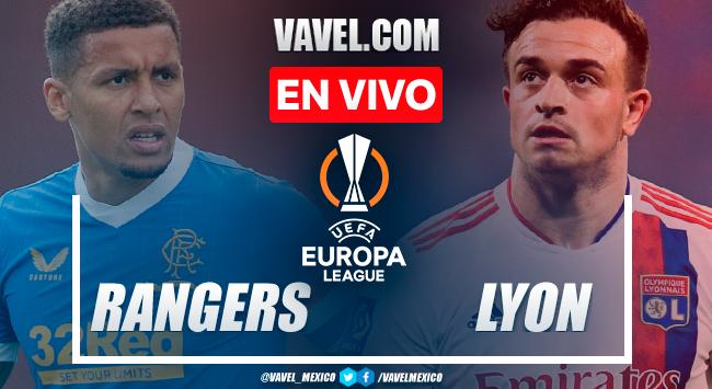 Resumen y goles: Rangers 0-2 Lyon en UEFA Europa League 2021