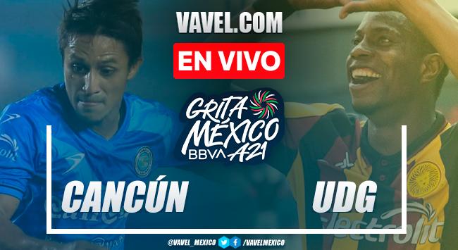 Resumen y gol: Cancún FC 0-1 Leones Negros en Liga Expansión MX 2021