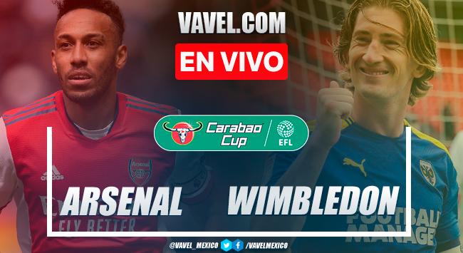 Resumen y goles: Arsenal 3-0 AFC Wimbledon en Carabao Cup 2021