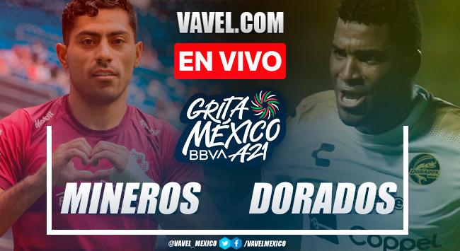 Resumen y goles: Mineros de Zacatecas 1-4 Dorados de Sinaloa en Liga Expansion MX 2021