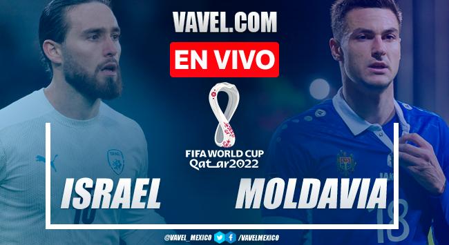 Resumen y goles: Israel 2-1 Moldavia en Eliminatorias de UEFA para Catar 2022