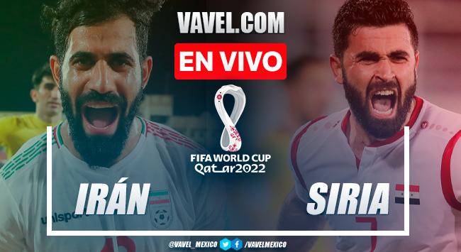 Resumen y gol: Irán 0-1 Siria en Eliminatorias Catar 2022