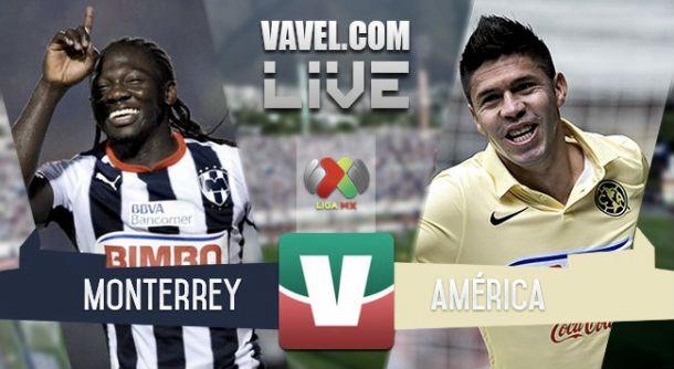 Resultado Monterrey - América en la Liga MX 2015 (1-1)