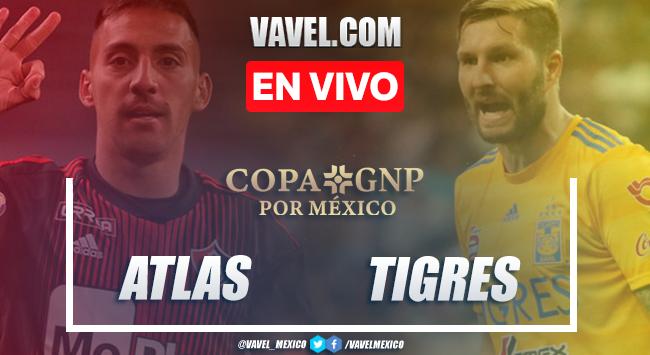 Atlas 2-2 Tigres: Goles y resumen de Amistoso Copa GNP 2020