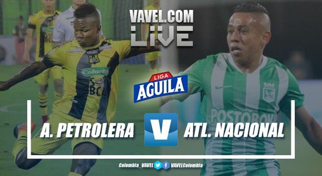 Resumen Alianza Petrolera vs. Atlético Nacional por la Liga Aguila (0-0)
