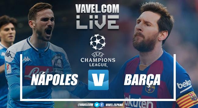 Napoli - Barcellona live, in diretta la Champions League:Griezmann risponde a Mertens (1-1)