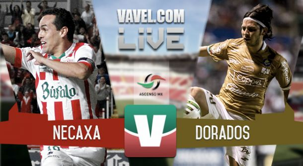 Resultado Necaxa - Dorados en Final Ascenso MX 2015 (0-2)