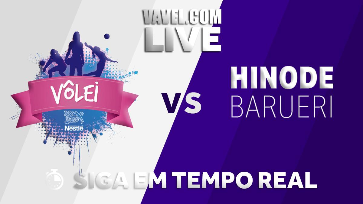 Resultado Barueri x Osasco pelas quartas de final da Superliga Feminina (1-3)