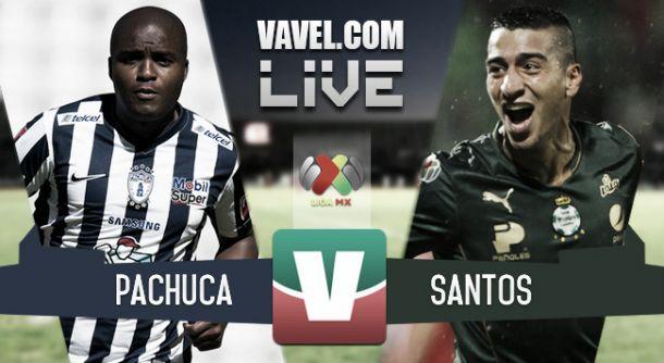Resultado Pachuca - Santos Laguna en Liga MX 2015 (2-3)