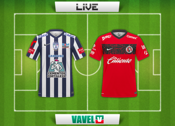 Resultado Pachuca - Xolos en Liga MX 2014 (1-1)