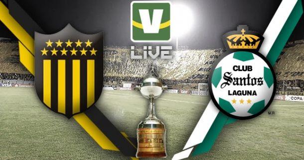 Peñarol x Santos Laguna, Copa Libertadores