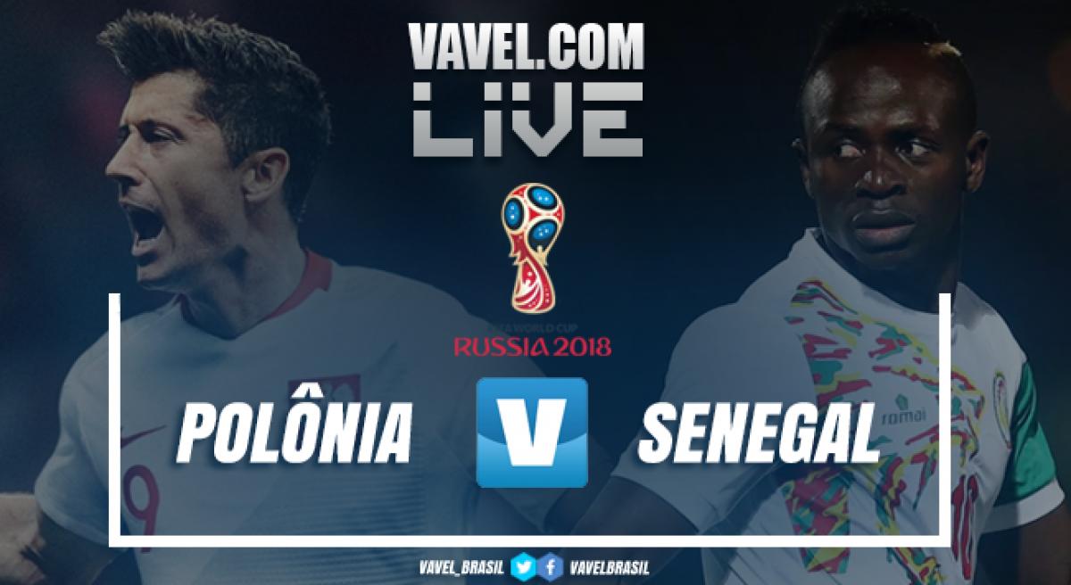 Jogo Polônia x Senegal ao vivo online pela Copa do Mundo 2018