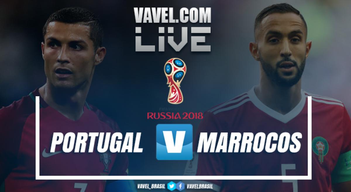 Resultado Portugal x Marrocos na Copa do Mundo 2018 (1-0)
