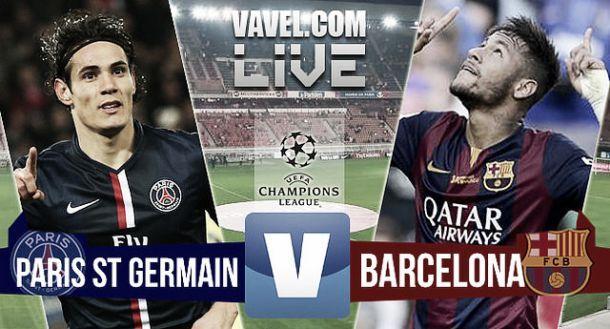 Diretta PSG - Barcellona in il risultato della partita Champions League 2015 (1-3)