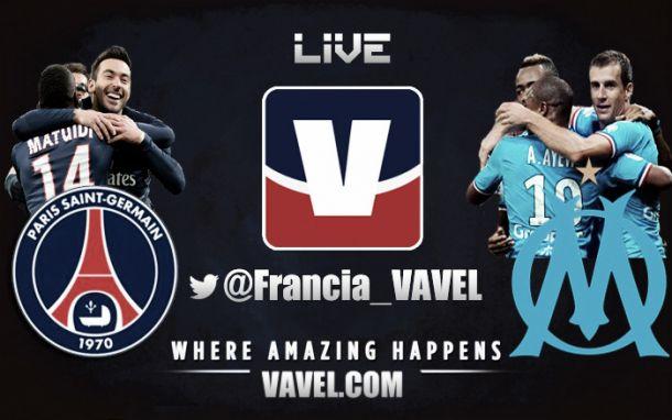 PSG vs Olympique de Marsella en vivo y en directo online