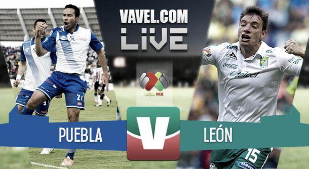Resultado Puebla - León en Liga MX 2015 (2-0)