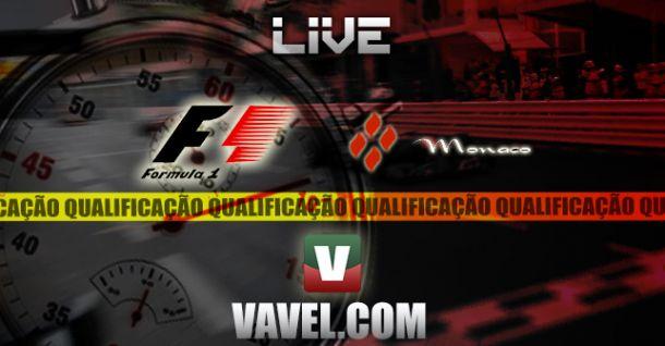 Qualificação GP Mónaco 2014 em F1, directo