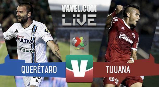 Resultado Querétaro - Xolos en la Liga MX 2015 (2-1)