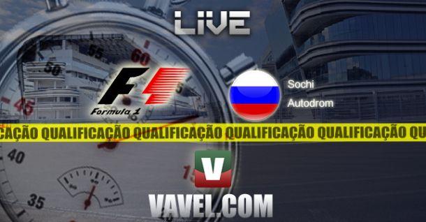 Qualificação do GP da Russia de F1, direto