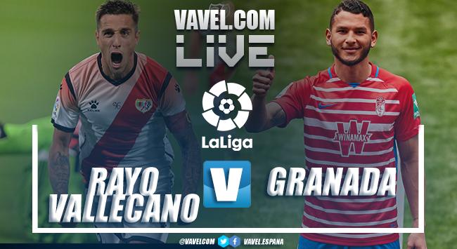 Resumen Rayo Vallecano 4-0 Granada CF en LaLiga 2021-22