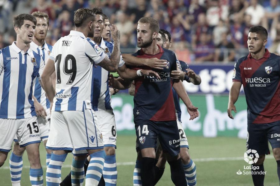 Real Sociedad vs Huesca en vivo y en directo online en LaLiga 2019