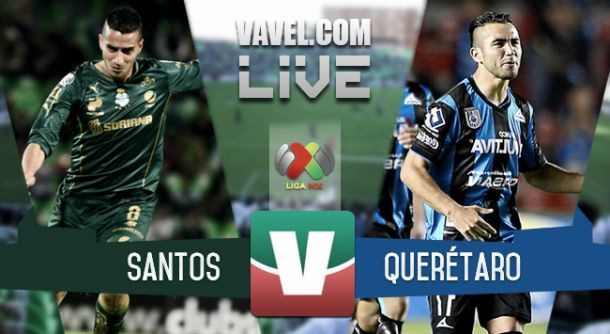 Resultado Santos Laguna x Querétaro na final do Campeonato Mexicano 2015 (5-0)