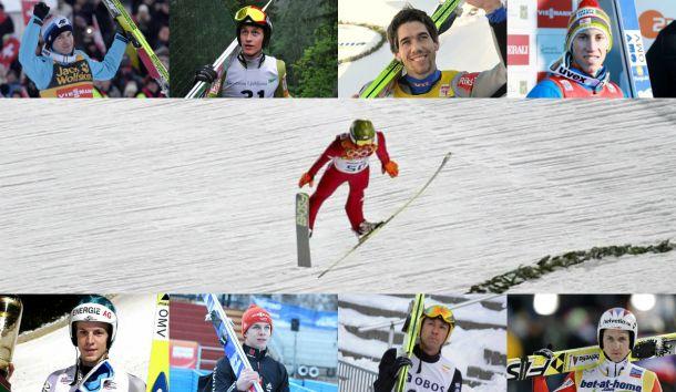 Live : Vivez en direct le concours de saut à ski (grand tremplin)