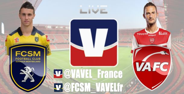 Live Ligue 1 : le match Valenciennes - Sochaux en direct