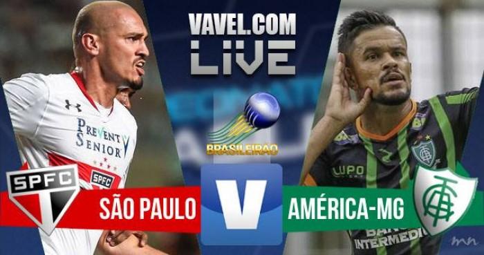 Resultado São Paulo x América (3x0) pelo Brasileirão Série A