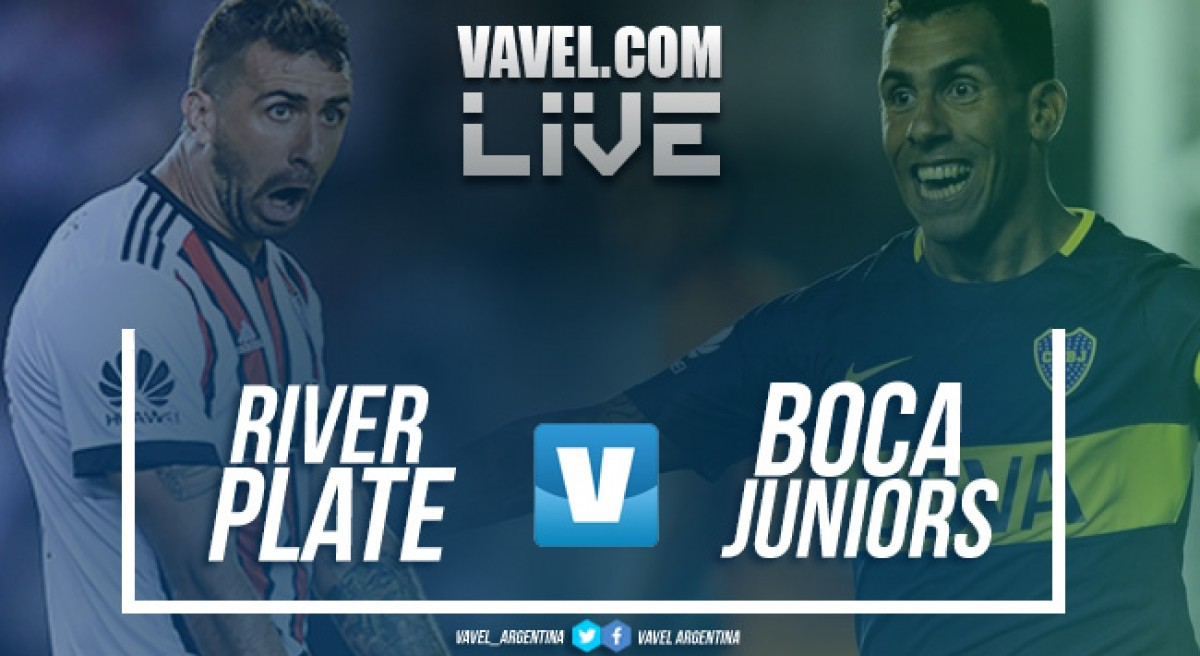 Boca Juniors x River Plate ao vivo hoje na Supercopa Argentina 2018 (0-2)