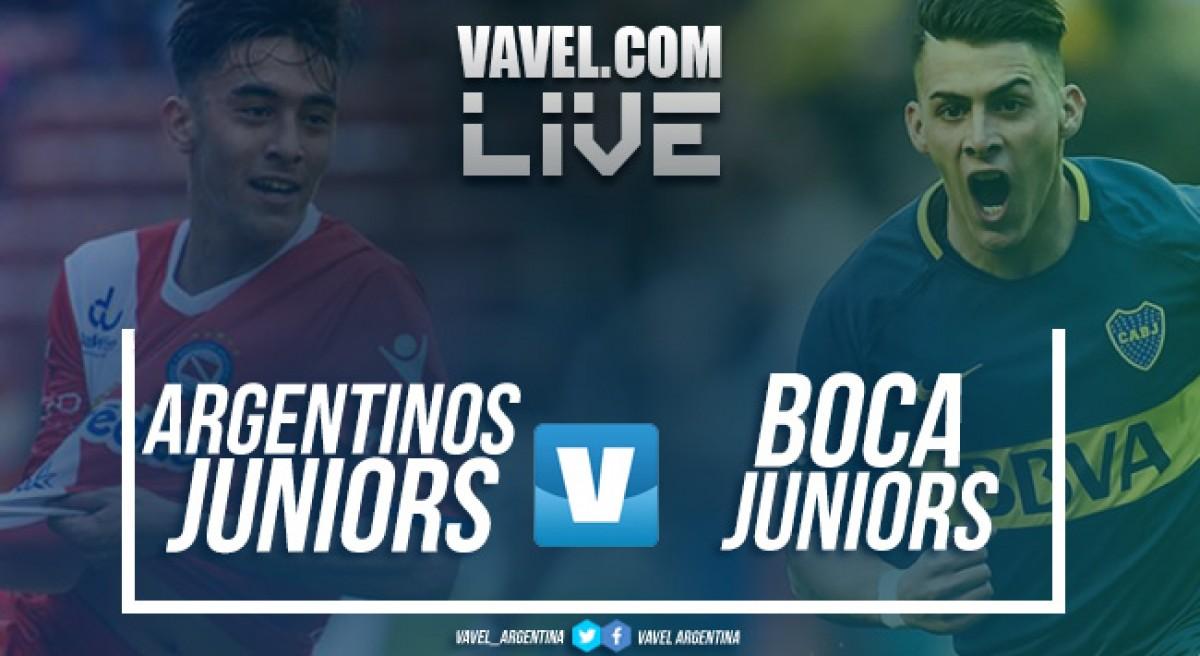 Resultado Argentinos Juniors 2-0 Boca Juniors por la Superliga 2018