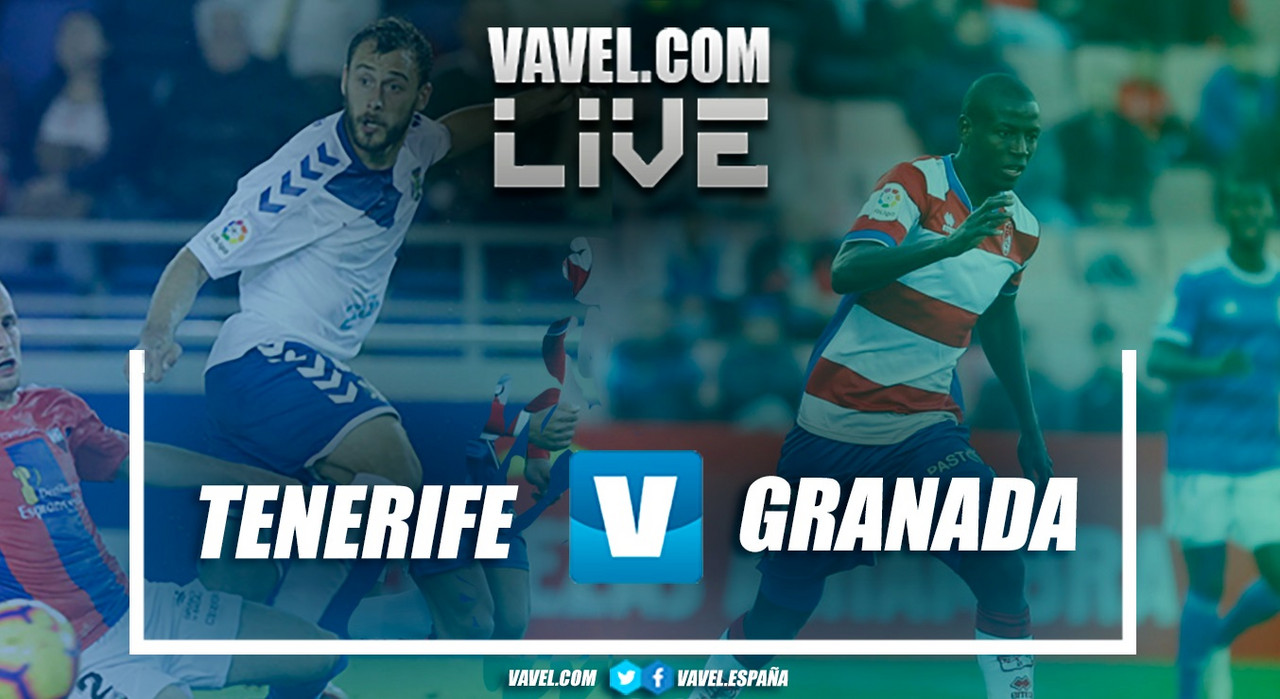Resumen Tenerife vs Granada CF en Segunda División 2018 (1-1)