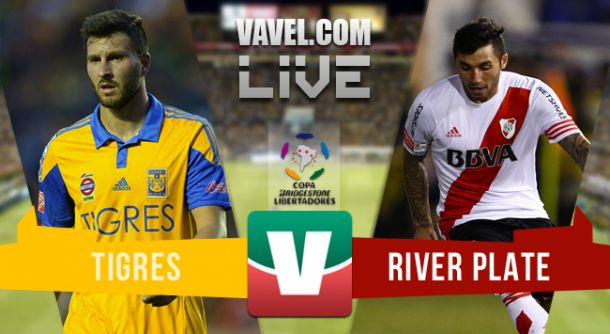 Resultado Tigres - River en final Copa Libertadores 2015 (0-0)