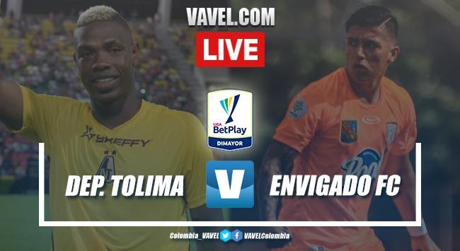 Resumen y goles: Deportes Tolima 3-0 Envigado F.C. en fecha 4 de la Liga BetPlay 2020-I
