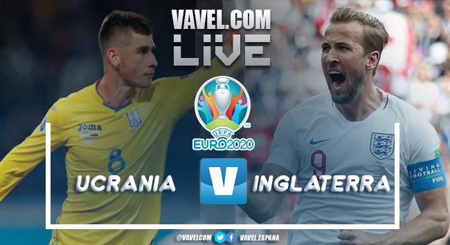 Resumen Ucrania vs Inglaterra por la Eurocopa 2020 (0-4)
