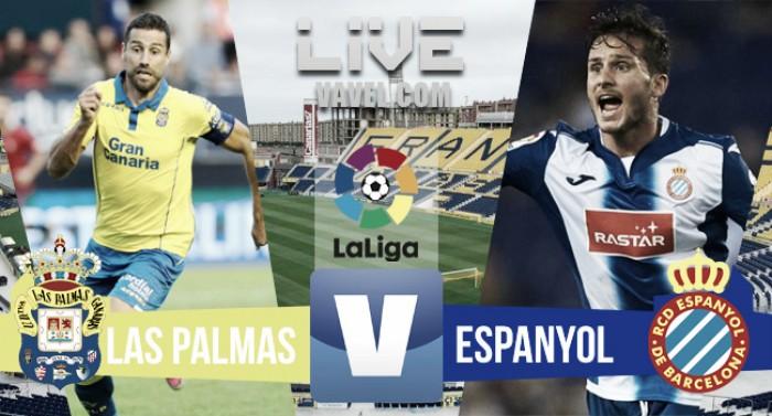 Empate a nada entre Las Palmas y Espanyol