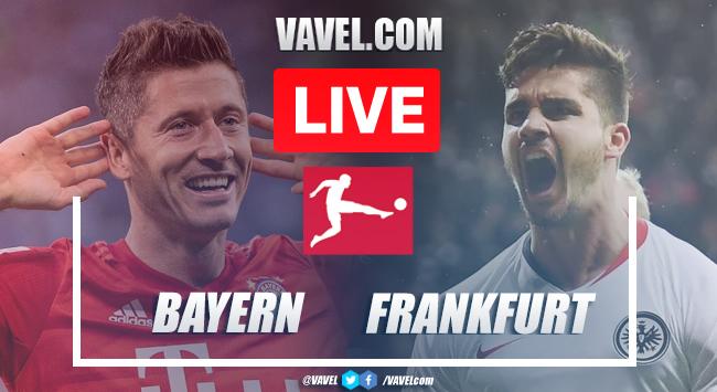As it happened: Bayern Munich 5-2 Eintracht Frankfurt