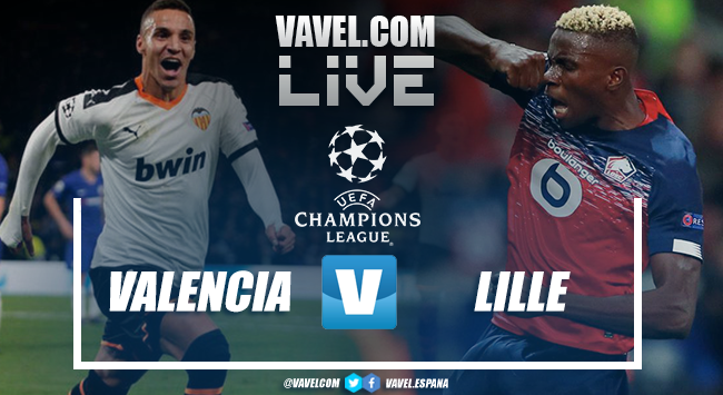 Resumen Valencia vs Lille en UEFA Champions League 2019 (4-1)