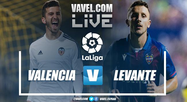 Resumen del Valencia CF vs Levante UD en LaLiga Santander 2021 (4-2)