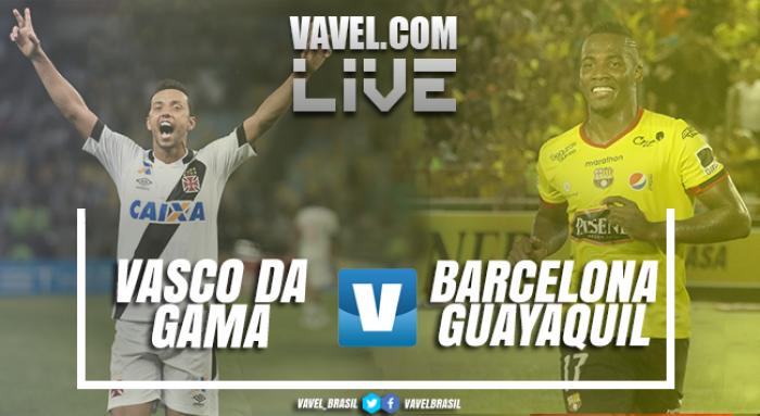 Resultado Vasco x Barcelona-EQU pela Florida Cup (2-1)