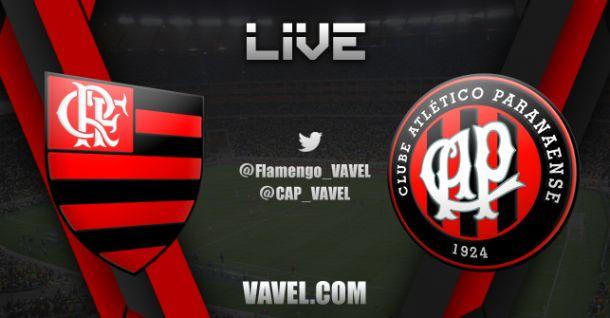 Jogo Flamengo x Atlético-PR pelo Campeonato Brasileiro 2014
