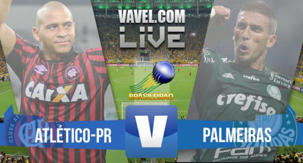 Resultado Atlético-PR x Palmeiras no Brasileirão 2015 (3-3)