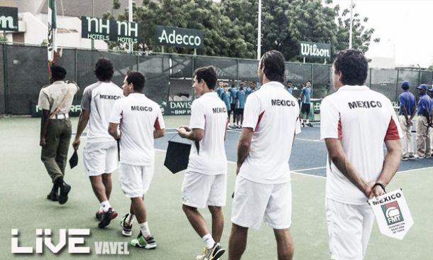 Resultado Copa Davis Día 3 México - Barbados